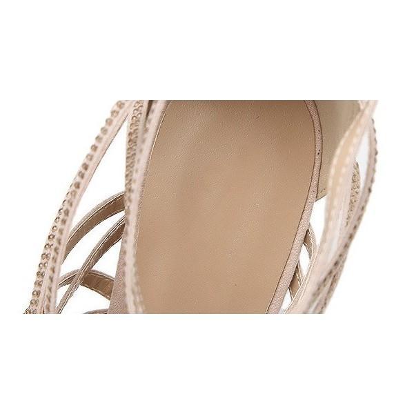 サンダル ストラップ ハイヒール パーティー シューズ パーティー 靴 パーティー パンプス パーティー サンダル ミュール 結婚式 靴