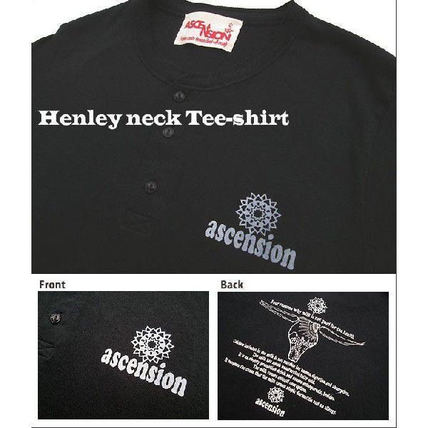 ASCENSION(アセンション)ヘンリーネックTシャツ【BFM】 as-396|juice16|02