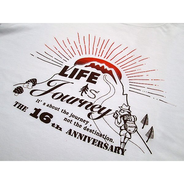 ASCENSION(アセンション)藍染め・曼荼羅 TEE【Life is a journey】JUICE 16th annyversary Tee as-670|juice16|04