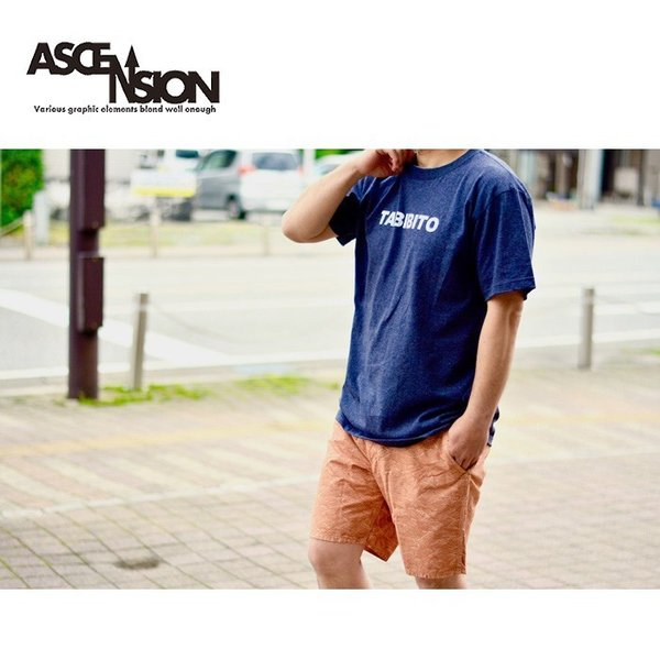 Tシャツ  ASCENSION(アセンション)  TABIBITO(旅人)  as-714|juice16