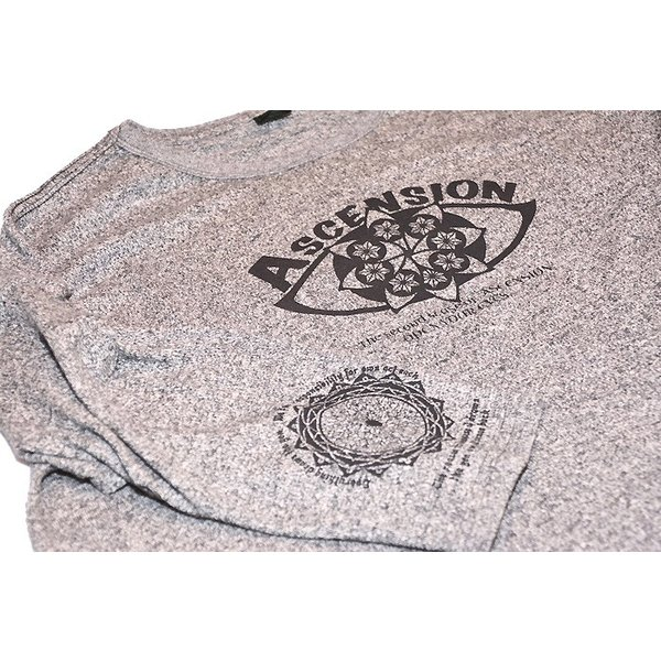 ASCENSION(アセンション)GOHEMP ROUND LOOSE TEE / HEAVY JERSEY ON ASCENSION 「Open your eyes」as-730|juice16|06