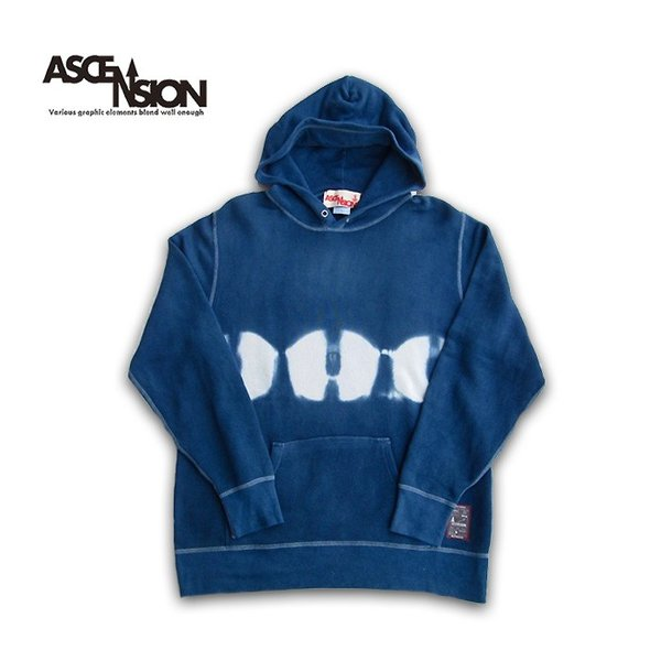 ASCENSION(アセンション)Tiedye Pullover Hoodie パーカー as-734 juice16 02