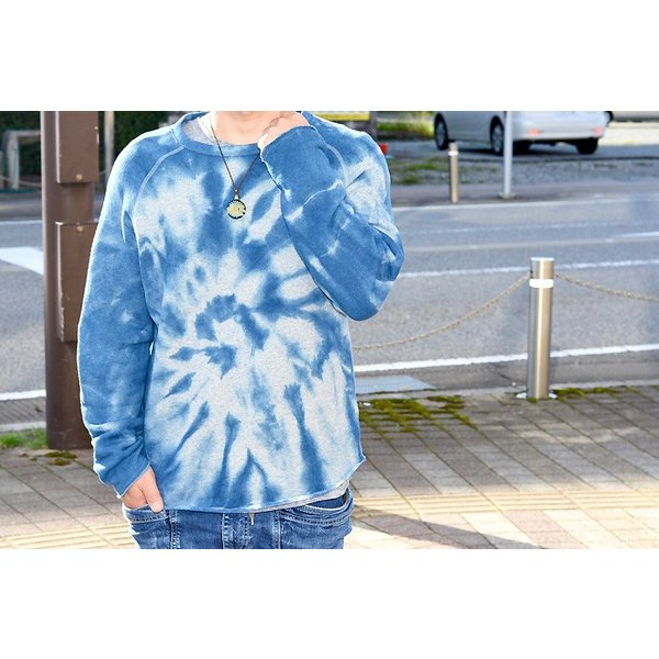 ASCENSION(アセンション) INDIGO CUTOFF SWEAT  as-735|juice16