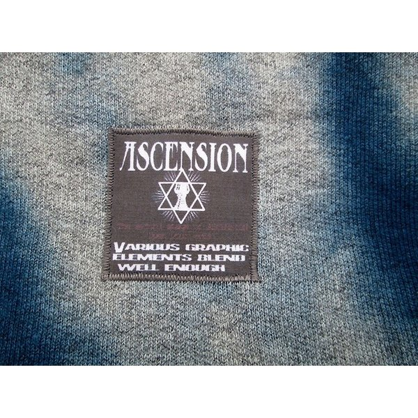 ASCENSION(アセンション) INDIGO CUTOFF SWEAT  as-735|juice16|05