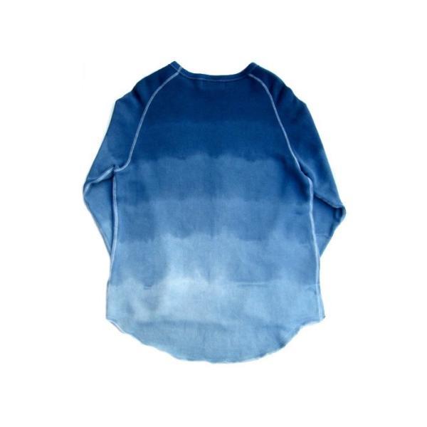 ASCENSION(アセンション)INDIGO CUTOFF SWEAT 藍染めグラーデーション as-741|juice16|03