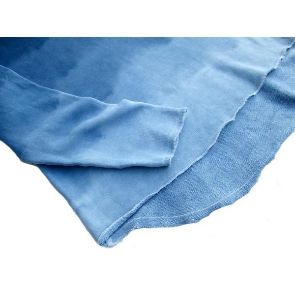 ASCENSION(アセンション)INDIGO CUTOFF SWEAT 藍染めグラーデーション as-741|juice16|05
