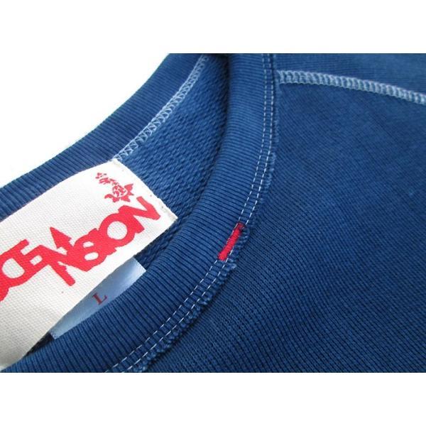 ASCENSION(アセンション)INDIGO CUTOFF SWEAT 藍染めグラーデーション as-741|juice16|06