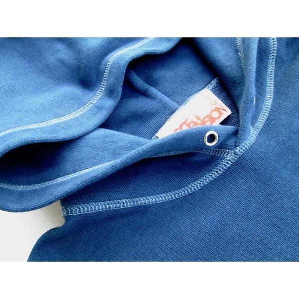 ASCENSION(アセンション)INDIGO PULLOVER HOODIE 藍染めグラーデーション パーカー as-742|juice16|06
