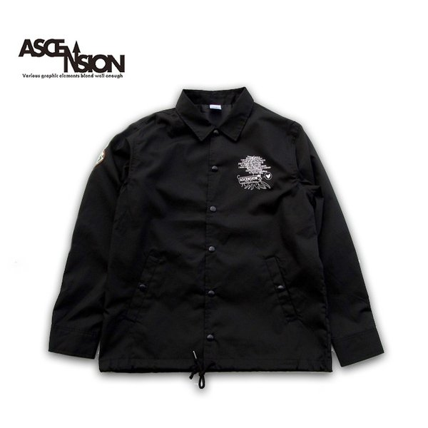 ASCENSION(アセンション)COACH JACKET(コーチジャケット) as-744 juice16 02