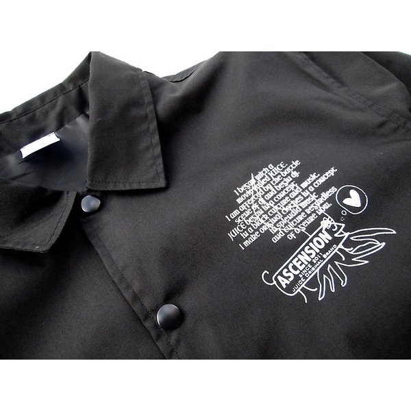 ASCENSION(アセンション)COACH JACKET(コーチジャケット) as-744 juice16 04