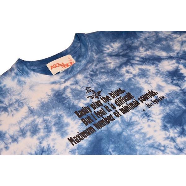曼荼羅 藍染め Tシャツ ASCENSION(アセンション)インディゴTシャツ 藍染めTシャツ as-782|juice16|02