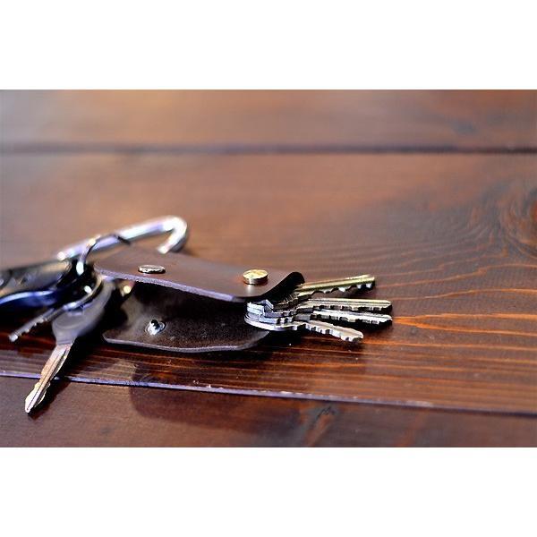 BLUE.art(ブルードットアート)KEY CASE (キーケース) Horween chromexcel leather/chocolate brown ba-027|juice16|06