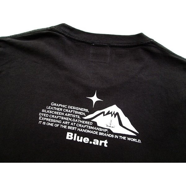 Blue.art(ブルードットアート)Blue.art(ブルードットアート)ネイティヴグラフィック ピグメントダイロングTシャツ ba-071|juice16|06