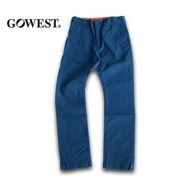 GO WEST(ゴーウェスト)WORK ON PANTS/DRILL STRETCH  gw-016 juice16