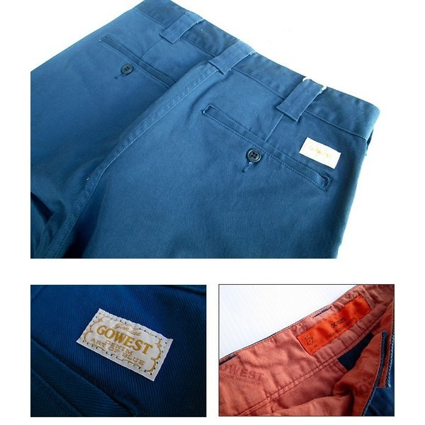 GO WEST(ゴーウェスト)WORK ON PANTS/DRILL STRETCH  gw-016 juice16 05