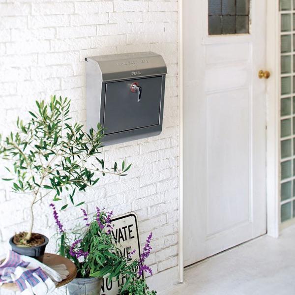 郵便ポスト メールボックス アメリカン Mail box キーロック「アートワークスタジオ(ARTWORKSTUDIO) Mail box 1」
