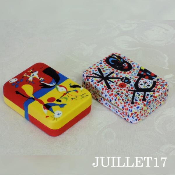Joan Miro ジョアン・ミロ アクセサリーケース ボックス 携帯用|juillet17