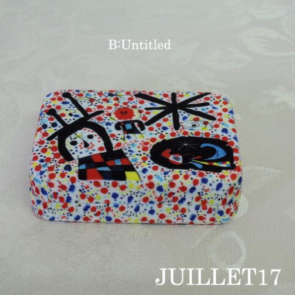 Joan Miro ジョアン・ミロ アクセサリーケース ボックス 携帯用|juillet17|03