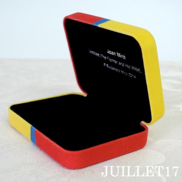Joan Miro ジョアン・ミロ アクセサリーケース ボックス 携帯用|juillet17|04