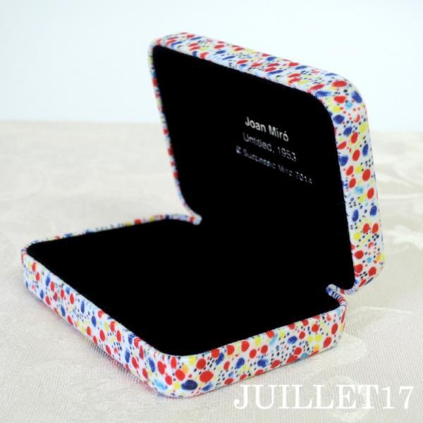Joan Miro ジョアン・ミロ アクセサリーケース ボックス 携帯用|juillet17|05