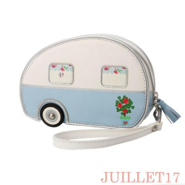 ベンデューラ ロンドン ポーチ コスメ 小物入れ ブランド 2way ヴィンテージキャラバン Vendula Vintage Caravan Pouch Bag|juillet17|02