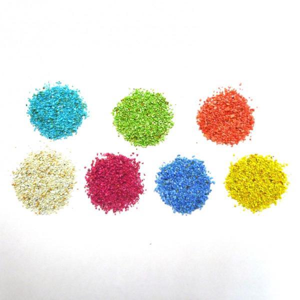 レインボーサンド  50ml (約42g) 観葉植物/ハイドロカルチャー/水耕栽培/インテリアグリーン|julli