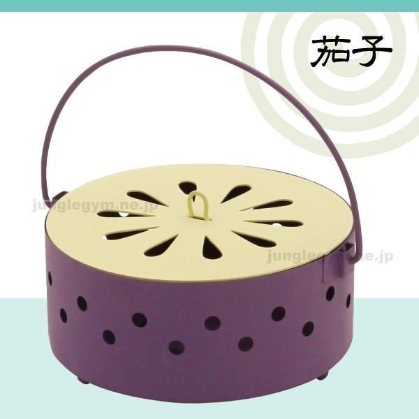 夏野菜蚊遣り箱:ナス