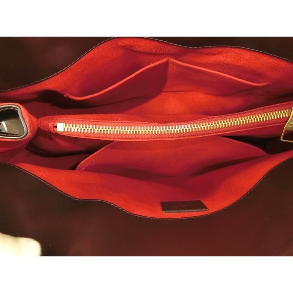 【中古】LOUIS VUITTON リヴォリMM ダミエ エベヌ 2WAY ショルダーバッグ N41150ルイヴィトン 肩がけ 斜めがけバッグ ハンドバッグ