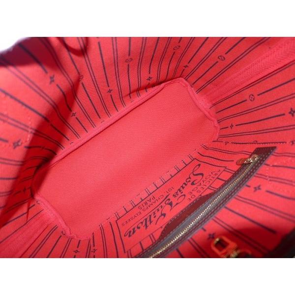 【中古】ルイヴィトン ネヴァーフルPM トートバッグ ダミエ エベヌ N51109