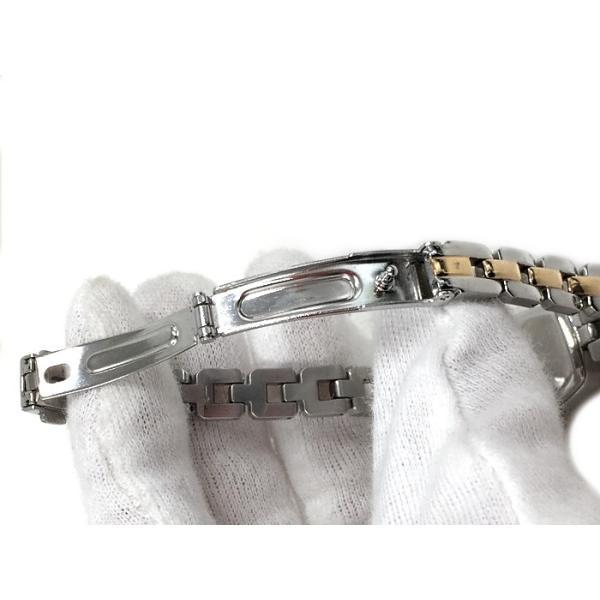 【中古】オリエント 腕時計 レディース ソーラー WDAC-SQ-B[jggW]