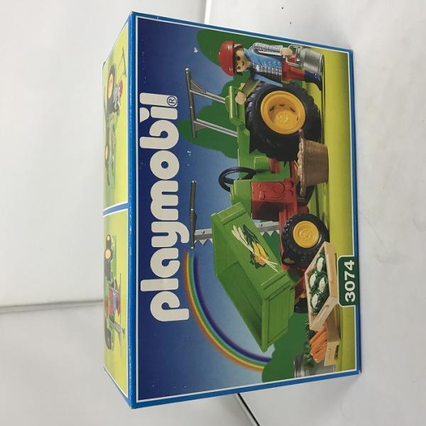 中古 プレイモービル農家集荷用トラクター3074 jggZ