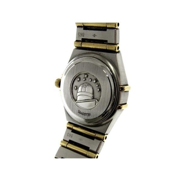 【中古】OMEGA コンステレーション ミニ レディース腕時計 SS×YG クオーツ 文字盤ホワイト 1262.30  オメガ