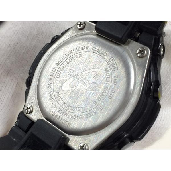 e298ea56bc ... 中古】カシオ ベビージー レディース腕時計 トリッパー BGD-1310 電波ソーラー デジタル ブラック/