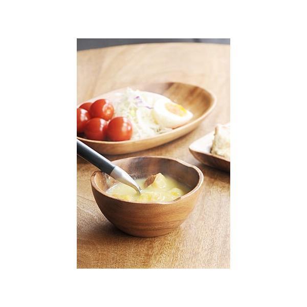 RoomClip商品情報 - プレート お皿 おしゃれ ボウル 食器 木製 カフェ レトロ アンティーク調 アカシアウッド ボウル S