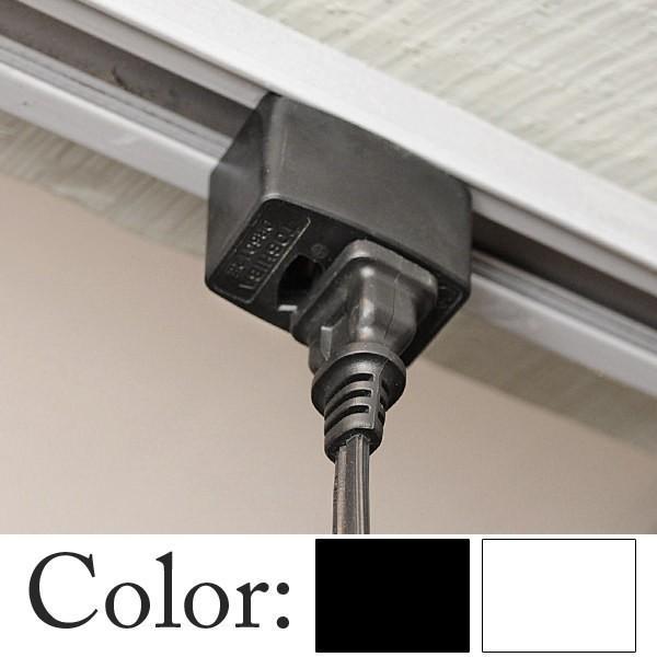 照明 ダクトレール ライティングレール 配線ダクト コンセント アダプタ ライティングレール コンセントプラグ|junk-colors