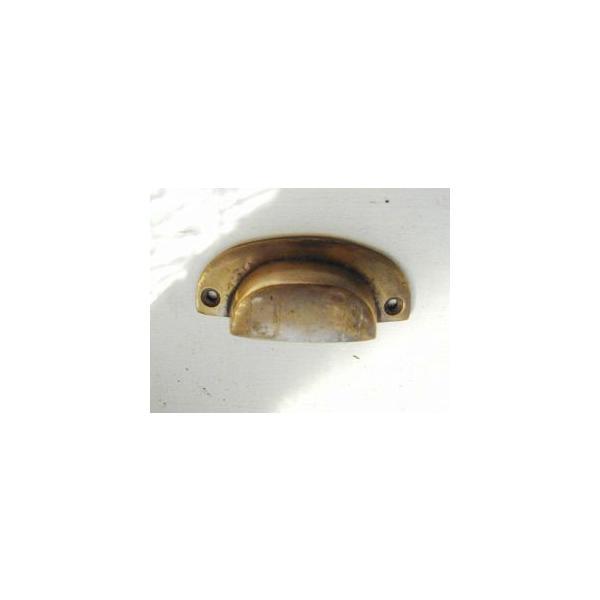 真鍮 ツマミ 取っ手 ハンドル 引き出し ドア 扉 キャビネット つまみ レトロ アンティーク調 DIY アンティークブラスプル R2