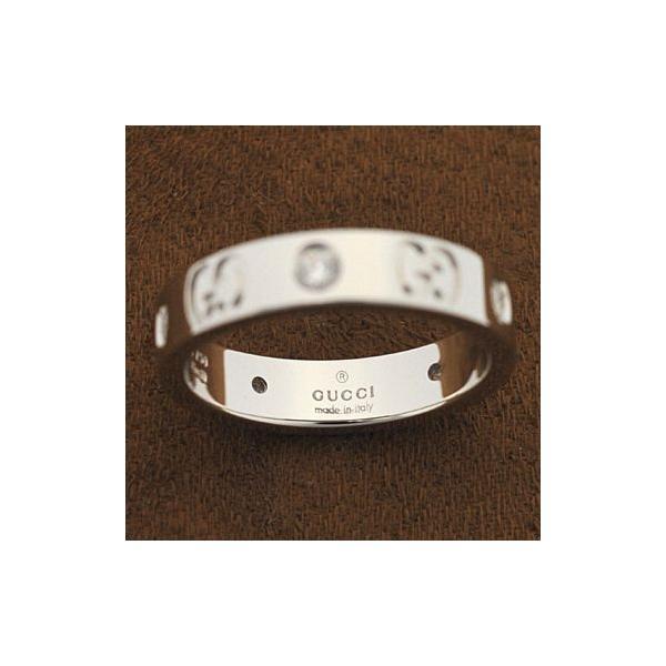 グッチ 100881-J8540/9066/10 ダイヤモンド アイコンダイヤモンドリング 指輪 GUCCI ホワイトゴールド|juraice|02