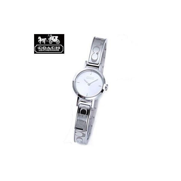 COACH コーチ 14501438 ニュー シグネチャー ステューディオ ブレスタイプ シルバー 腕時計 ウォッチ レディース juraice