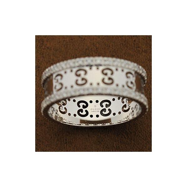 グッチ 201938-J8540/9066/08 リング ダイヤモンド アイコンダイヤモンドリング 指輪 GUCCI ホワイトゴールド|juraice|02