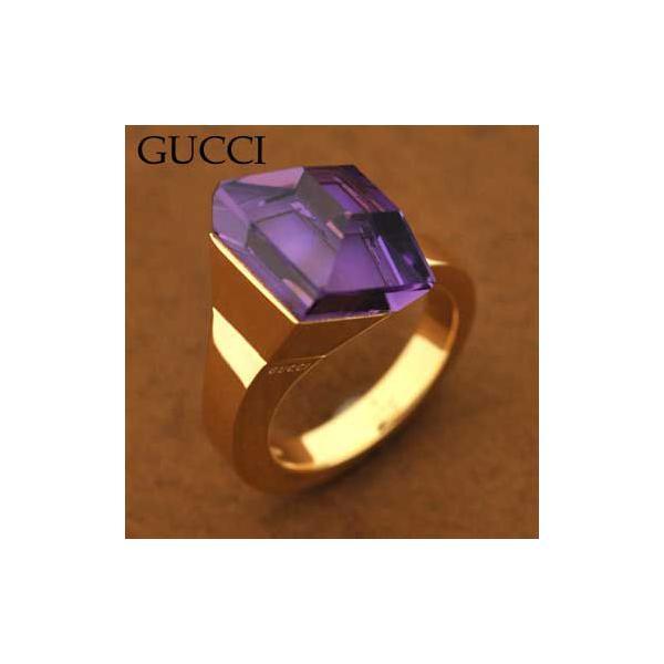 グッチ 205795-J8C91/8075/11 リング  指輪  GUCCI  K18YG  イエローゴールド|juraice