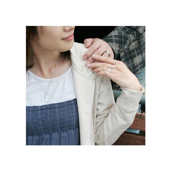 送料無料 「あなたは私の全て」ダイヤモンド×白シェルステンレスペアネックレス/4SUP002WH&4SUP002WH/刻印可能/white clover/ホワイトクローバー sale|juraice|02