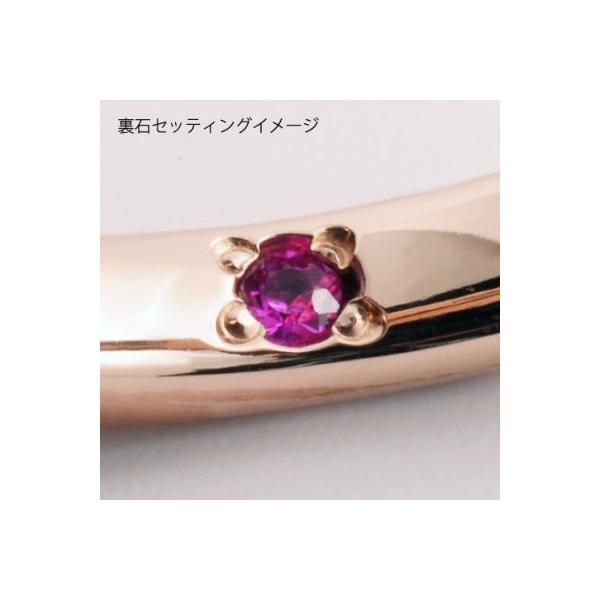 送料無料 刻印可能 3〜19号/誕生石/セミオーダーメイド シェアハート ステンレス ダイヤモンド リング/ゴールド 4SUR102L sale|juraice|03