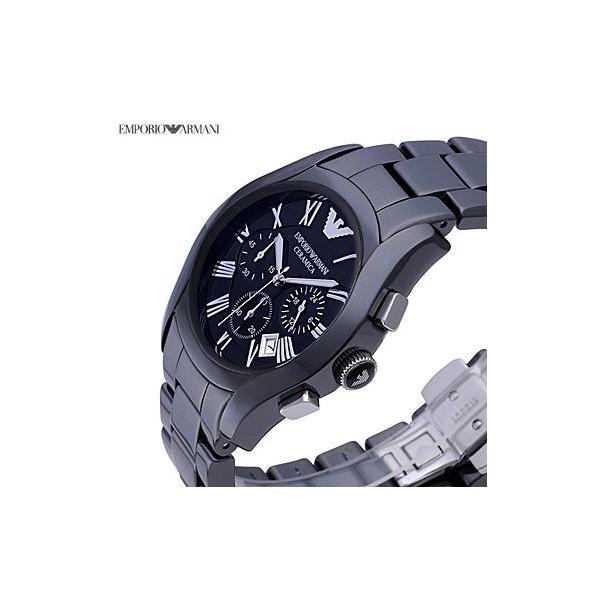 エンポリオ・アルマーニ AR1400 スポーツ スクエア クロノグラフ / ネイビー メンズ  腕時計|juraice