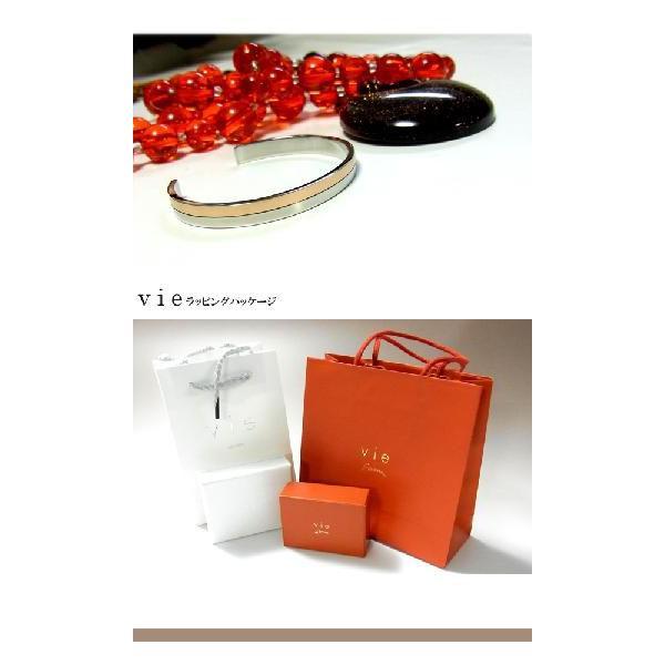【vie】ピンクゴールドラインステンレスバングル/ヴィー/K18 sale|juraice|06