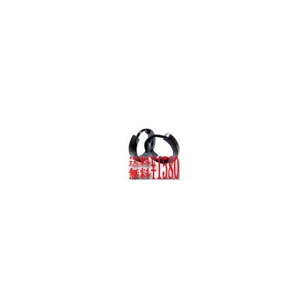 福袋対象商品 ピアス ブラック フープ ステンレス ギフト メンズ レディース 送料無料 プレゼント アクセサリー ju8 年度末 sale|juraice|05