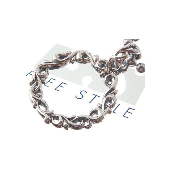 ペンダント シルバー 唐草 アラベスク サークル オーバル メンズ ブランド FREESTYLE sale
