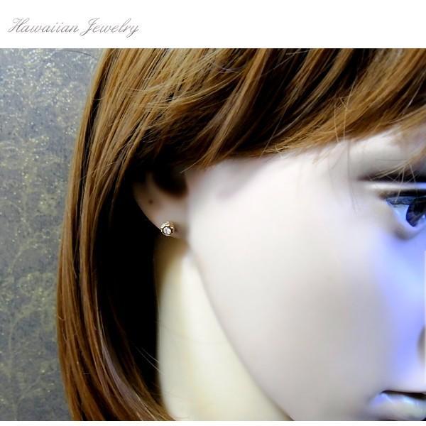 【片耳用】ハワイアンジュエリー CZ サンマーク ピアス  レディース メンズ 誕生日 スチールシルバー イエローゴールド スチールシルバー sale|juraice|09