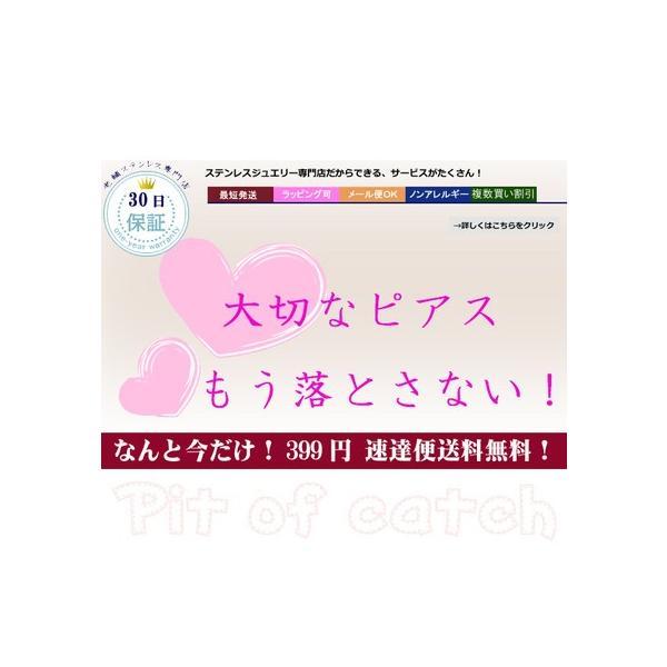 【方耳用1個】 ピットオブキャッチ ステンレスピアスキャッチ/シリコン sale|juraice|03