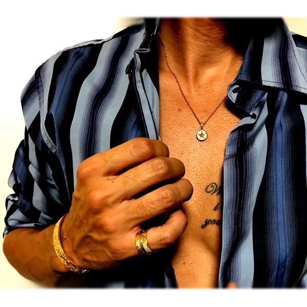 ペアネックレス ペアハワイアンジュエリー 星 スター メダル コイン カップル 記念日 誕生日 プレゼント ギフト 花 入浴剤 写真フレーム フラワー|juraice|12