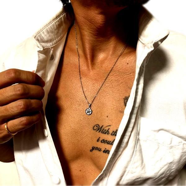 ペアネックレス ペアハワイアンジュエリー 星 スター メダル コイン カップル 記念日 誕生日 プレゼント ギフト 花 入浴剤 写真フレーム フラワー|juraice|14
